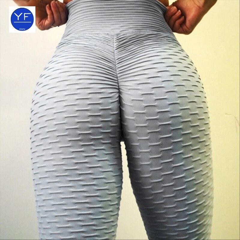 2021 sexy yoga pants fitness sports leggings jacquard sports leggings female running high waist yoga tight sports pants Legging