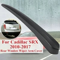 for 2010 2017 cadillac srx car rear windshield wiper trim cover water deflector cowl plate