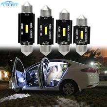 C5W LED CANBUS Lizenz Platte Licht 31mm 36mm 39mm 41mm Auto-innenhaube Lampe DC 12V CSP Chips C10W Led-lampe Girlande