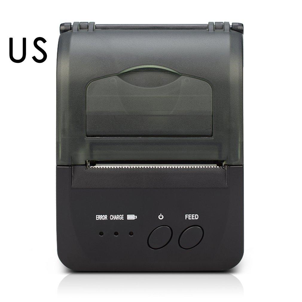 58mm Mini Thermal Printer USB Printing Receipt Printing Convenient POS-5809DD Portable Wireless Printer cheap usb bluetooth serial pos58 thermal receipt bill ticket printer with cash box port support multiple languages