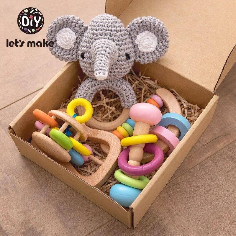 Давайте сделаем детские игрушки, детские игрушки Монтессори, детские игрушки для прорезывания