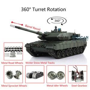 Heng Long 1/16 7.0 Leopard2A6 RC Tank 3889 Barrel Recoil Metal Tracks W/ Link TH17617-SMT4