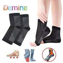 Plantar Fasciitis Socks for Women Men Heel Protector Compression Socks Pain Relief Heel Pads Foot Ca