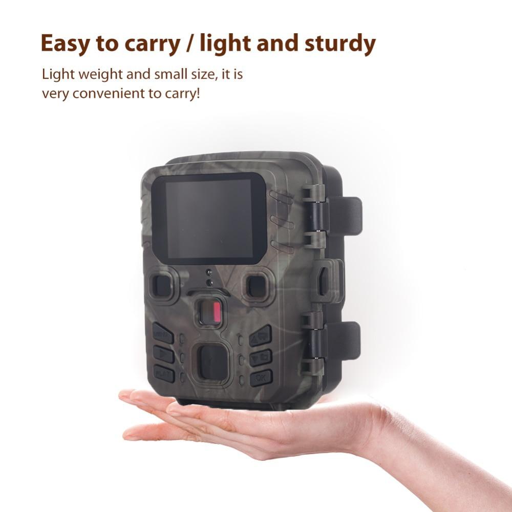 Cámara de vigilancia de 16mp con visión nocturna, Mini301, 1080P, 0,5