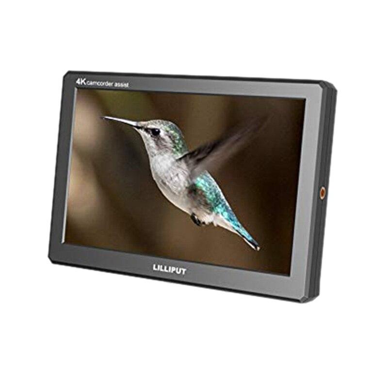 ABKT-Liliput A8S 8,9 pulgadas 4K 1920X1200 3G-SDI Mini Monitor HDMI 3D-LUT 1920X1200 Cámara IPS Monitor de campo para cámara réflex digital de vídeo