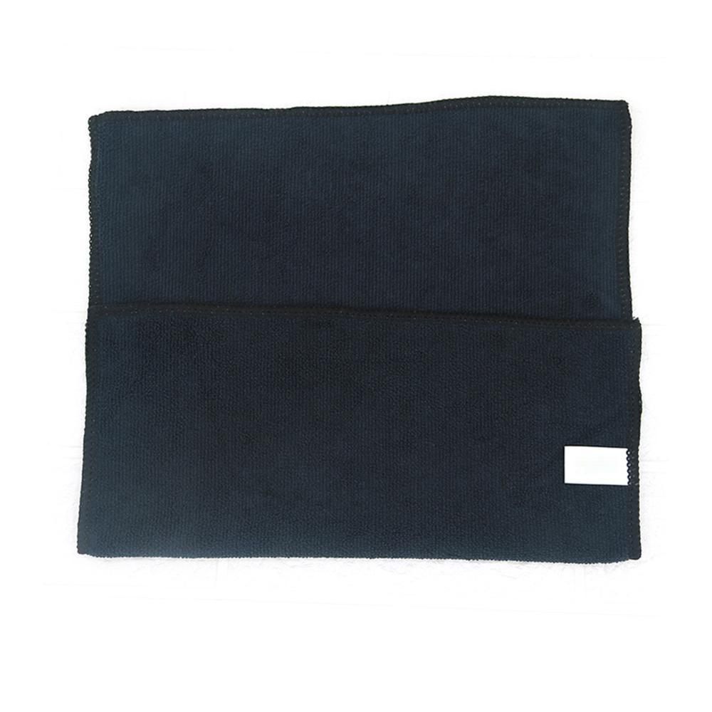 10PCS Home Window 30x40cm Black Car Care Polishing Wash Towels Microfibers Car Detailing Cleaning Soft Cloths enlarge
