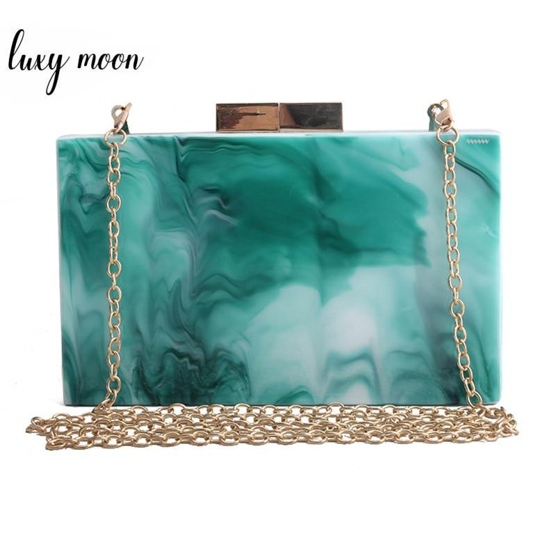 Verde acrílico bolsa de embreagem noite bolsa de casamento bolsa feminina luxo mini bolsa banquete festa ombro zd1538