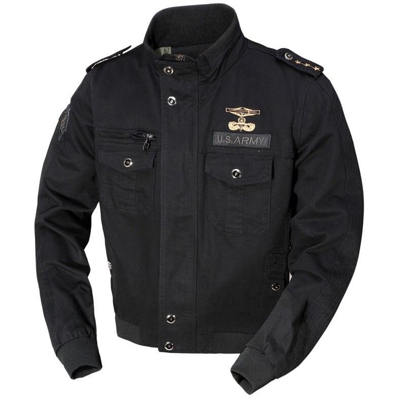 Мужские куртки, куртки-бомберы в стиле милитари, мужские весенне-осенние повседневные куртки-бомберы со множеством карманов, мужские военн...