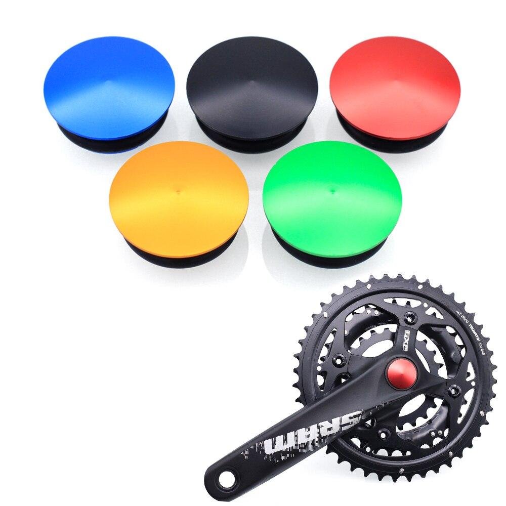 SR-SPATS bielas integradas para bicicleta de montaña, accesorios de aluminio para el casquillo de la manivela