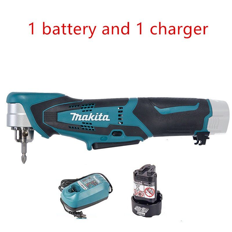 10Mm Makita Rechargeable Drill Angle DA330D DA330DWE  Body Only 10.8 V/1.3Ah New enlarge
