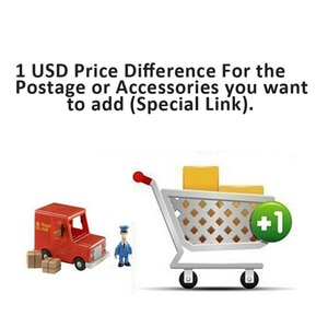 Special link for  additional pay for your required shipping method or add some accessories.