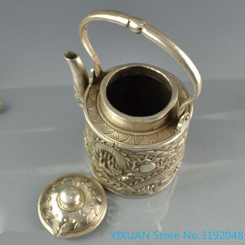 Accesorios de decoración del hogar: hervidor de vino de cobre blanco hervidor...