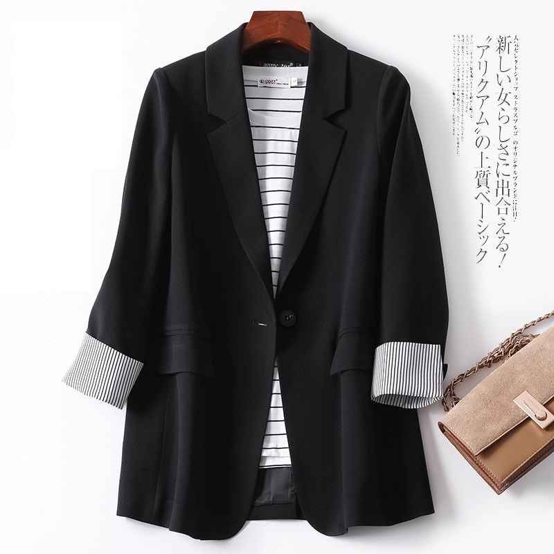 2021 Summer Small Suit Jacket Women's New Korean Women's Clothing Fall Internet Celebrity Loose Casu