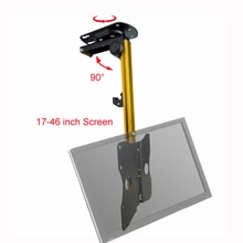 "D-MOUNT CB-3L 17-37"" Foldable LED LCD TV Screen Ceiling Holder Monitor  Car Mount Hanger Wall Mount Rack Cabinet Mount"