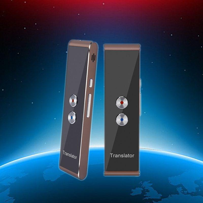 Intelligent Translator Portable  Wireless68Languages Bidirectional Real-time Instant Voice Translator APP Bluetooth Multilingual enlarge