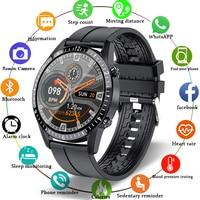 2021 Смарт-часы телефон полный сенсорный Экран Спорт Фитнес часы IP68 Водонепроницаемый подключение по Bluetooth для Android ios смарт-часы для мужчин