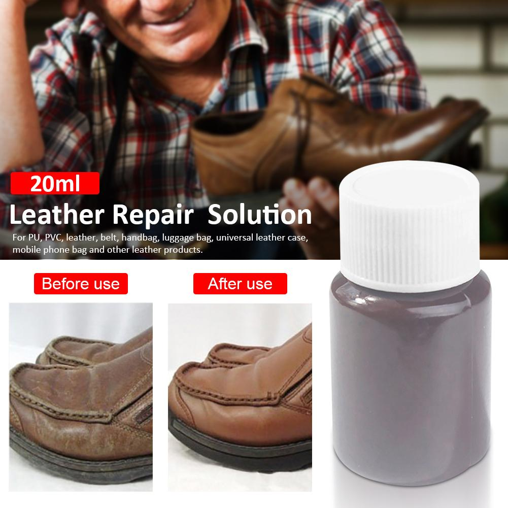 20ML Leather Vinyl Repair Essence Kit Car Seat Sofa Coats Holes Scratch Cracks Rips Car Care Car Interior Cleaner Sofa Cleaner
