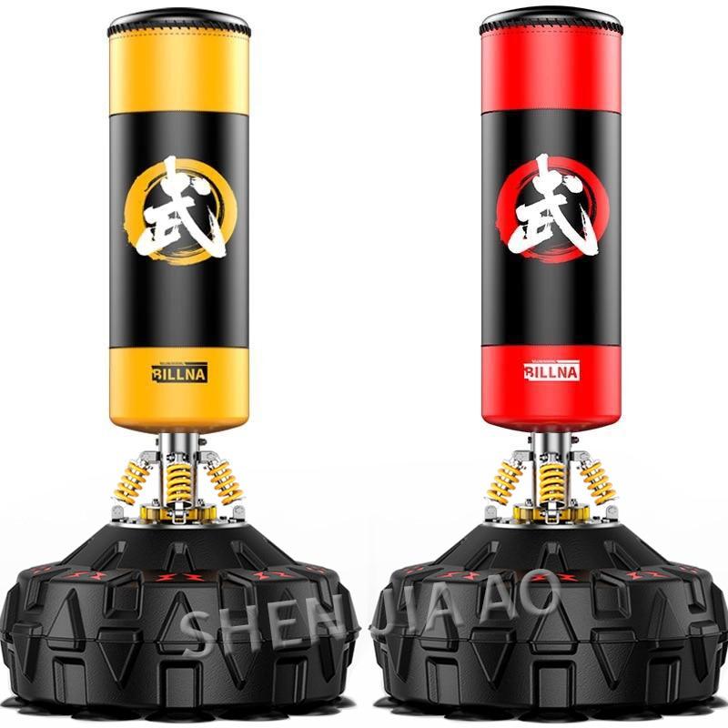 empty boxing sandbag fitness Free-Stand vertical suction cup base sandbag Taekwondo Training Pressure Relief Bounce Back Sandbag