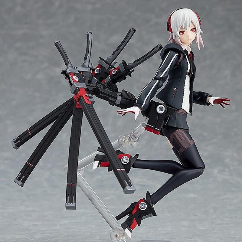 Ciężki żołnierz typ figurka kobiety wysoki uczeń dziewczyna Anime Figma 422 kolekcja figurek zabawka figurka prezent