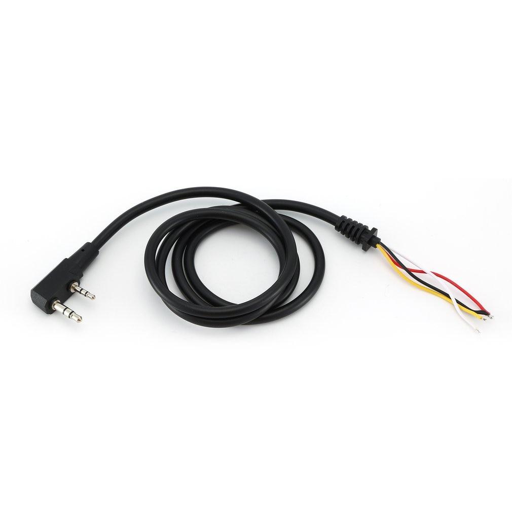 U94 PTT reemplazar cable DIY reemplazar k-cable de la cabeza de la Z táctico TCA-SKY PELTOR COMTAC MSA EARMOR TCA TRI U94 PTT ST94