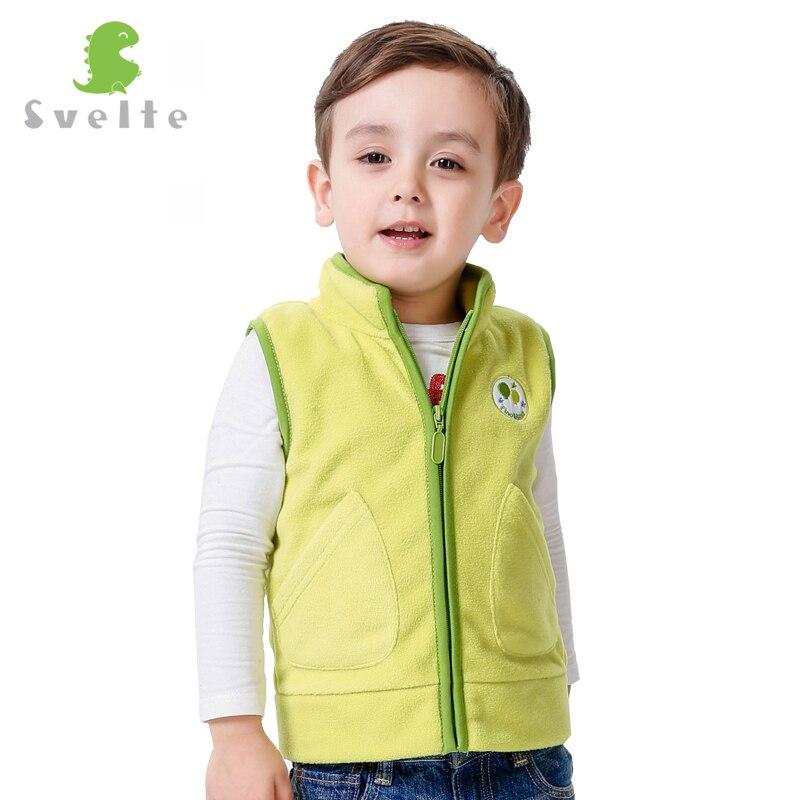 Veste de printemps automne et hiver colorée   Gilet en fourrure polaire, vêtements pour enfants, pour garçons et filles
