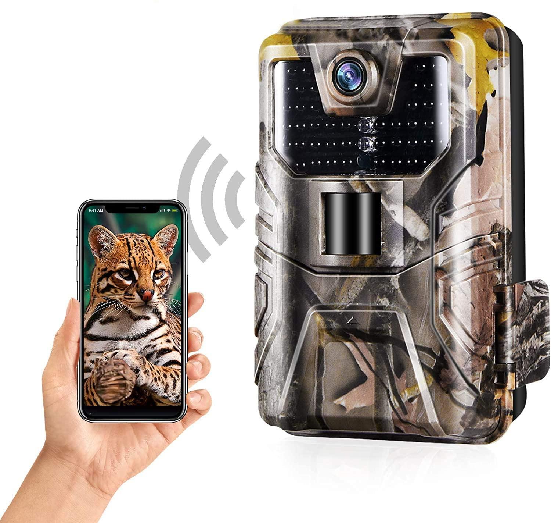 Cámara infrarroja de rastreo para exteriores, dispositivo móvil inalámbrico de Vida Silvestre,...