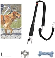 dog leash bike attachment hands free for bicycle riding dogs trainer exerciser walker