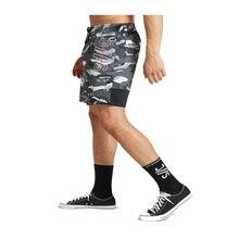 Vetement homme été entraînement shorts hommes décontracté szorty court polyester maille basket taille élastique hommes shorts pantalons de survêtement