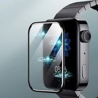3d curved edge anti scratch protective full cover screen film protection for xiaomi redmi mi watch screen protector accessories
