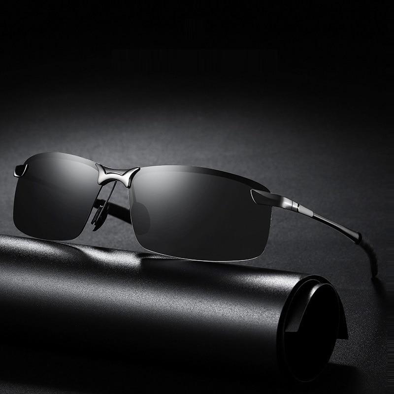Classic Luxury Men's Polarized Sunglasses For Men Women Driving Fishing Hiking Sun Glasses Male Vint