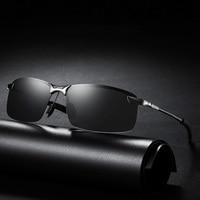 Классические роскошные мужские поляризованные солнцезащитные очки для мужчин и женщин, для вождения, рыбалки, пешего туризма, солнцезащитн...