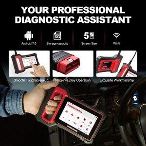 Image 4 - THINKCAR Thinkscan Plus S4 бессрочный, бесплатный, опциональный, 3 перезаправки, автомобильный диагностический инструмент ECM/TCM/ABS/SRS/BCM система, OBD2 автомобильный сканер
