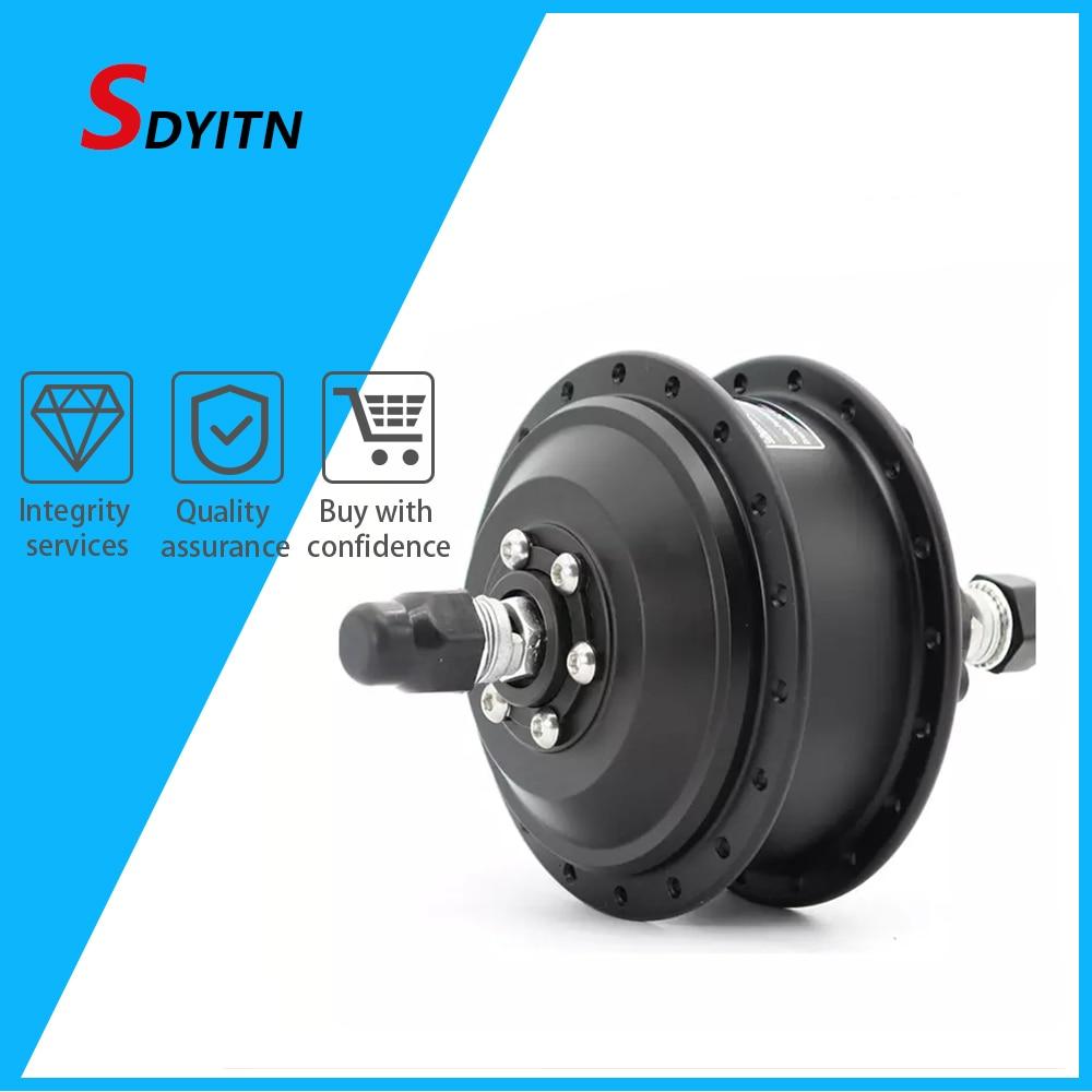 Sdyitn bicicleta elétrica venda 36v 250w350w motor da roda sem escova bicicleta elétrica elétrica Dgw07-md hub motor para bicicleta elétrica
