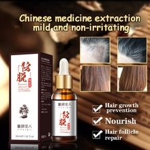 Anti-hair loss essential oils Polygonum multiflorum, Chinese angelica, Chinese herbal extracts, hair