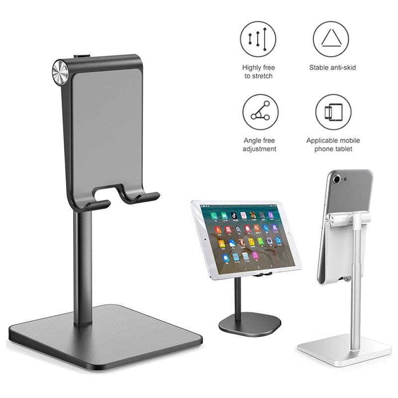 Universal Table Cell Foldable Support 2020 Desk Mobile Phone Holder Stand For IPhone IPad Adjustable Metal Desktop Tablet Holder