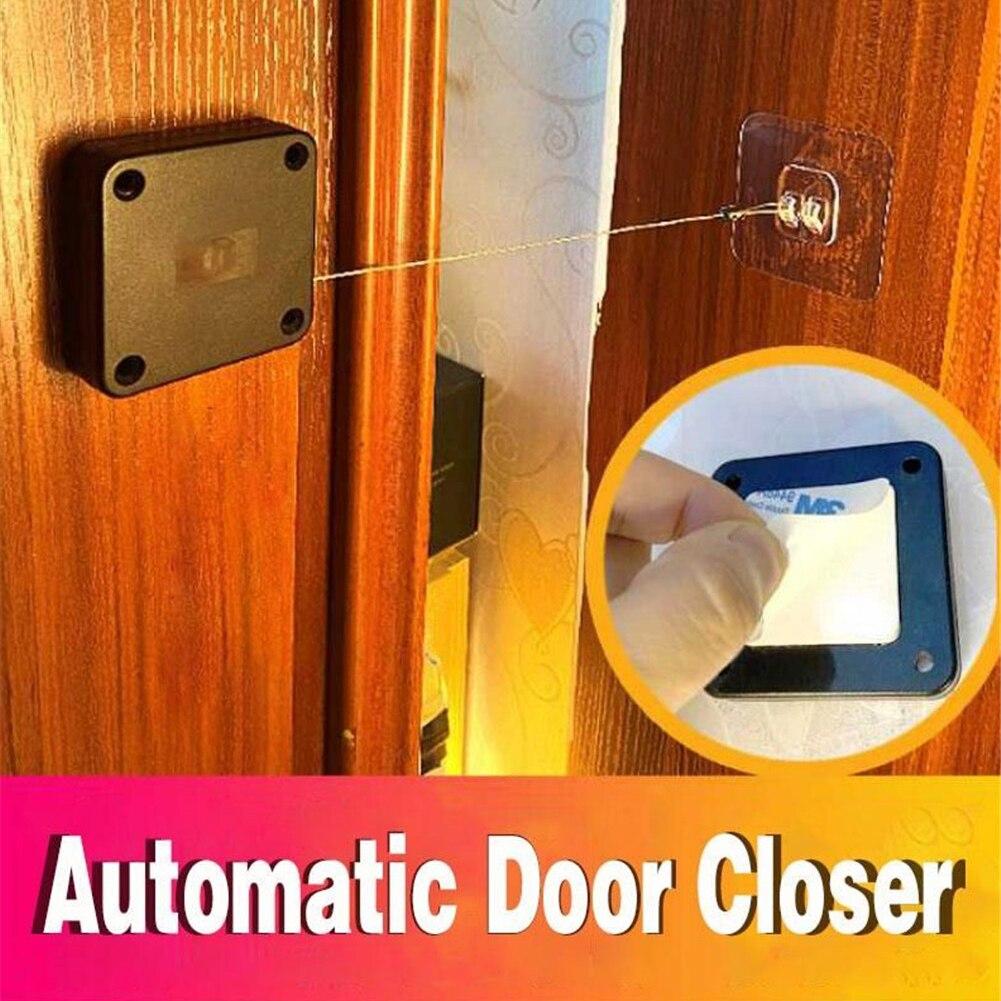 Дверной доводчик без перфорации, Автоматические Дверные доводчики для ящиков, автоматический доводчик двери