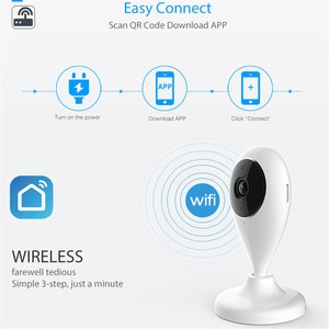 1280✖720 WiFi Camera Smart Video Cams With Montion Detect Ip Camera Security Protection Mini Camera baby Camera