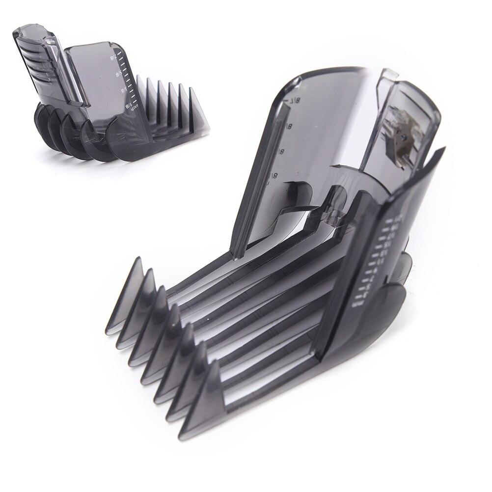 машинка для стрижки волос qc5115 15 1 насадка Машинка для стрижки волос Горячая Распродажа, черный триммер для бороды, насадка для Philips QC5130 QC5105 QC5115 QC5120 QC5125 QC5135