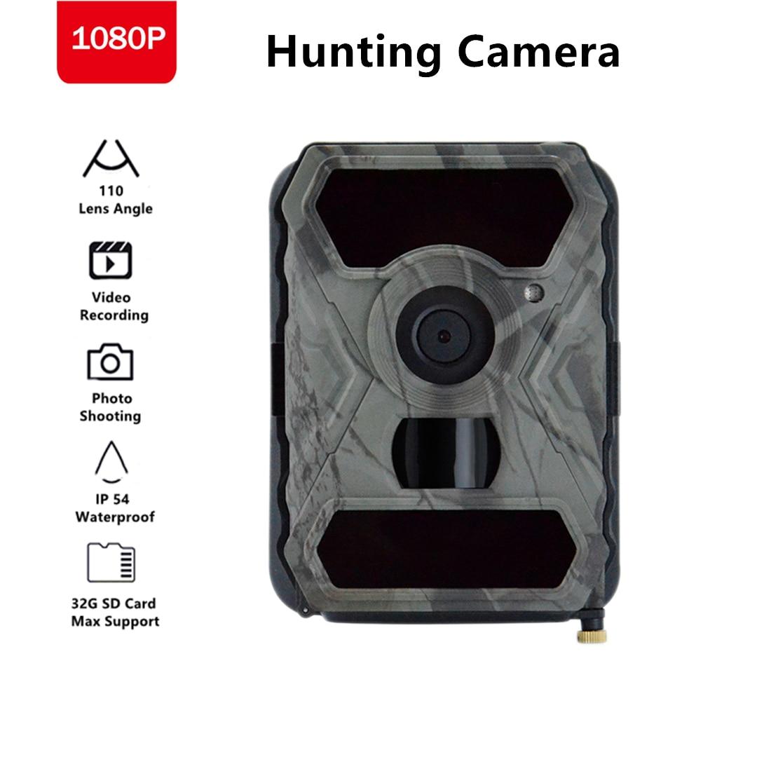 Cámara de caza S880G 12MP 1080P cámara de caza cámara de vigilancia salvaje IR visión nocturna cámaras de exploración de vida silvestre