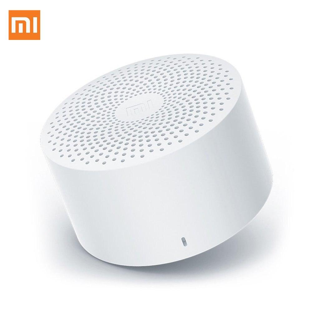 Xiaomi caixa de som original ai, alto falante, bluetooth, mini, sem fio, qualidade hd, portátil, coluna, microfone, mãos livres, chamadas, ai, bluetooth 4.2