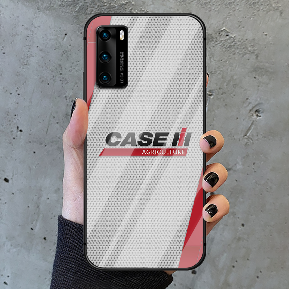 CASE IH Tractor Logo Phone Tempered Glass Case Cover For Huawei P Nova Mate 5T 20 30 40 E Pro Lite Smart 2019 2021 Shell Hot Tpu  - buy with discount