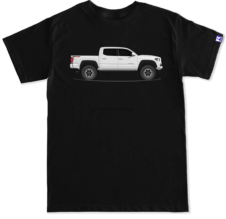 FTD talla R construido hombres TRD 3rd Gen blanco Tacoma T camisa