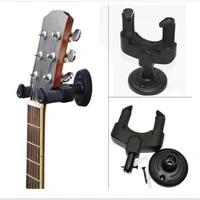 electric guitar hanger holder stand rack hook wall mount for all size guitar set black 139 5cm plasic