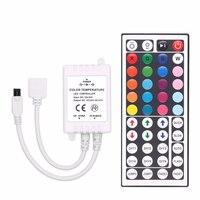 Светодиодная лента RGB SMD 5050 3528 2835, аксессуары для светильник ных лент, 12 В постоянного тока, 24 клавиши/44 кнопки, ИК-Радиоуправление для Светоди...