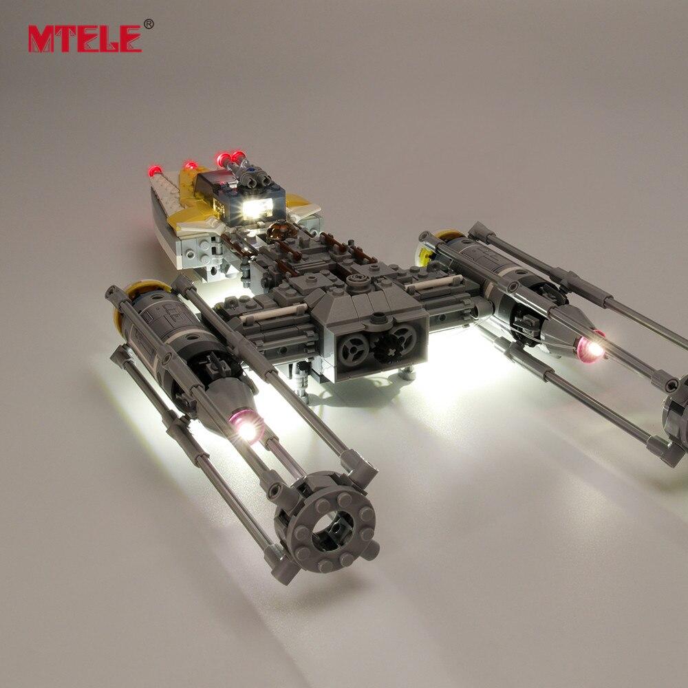 Купить с кэшбэком MTELE LED Light Kit for 75172 Star war Y-Wing Star fighter (NOT Include The Model)
