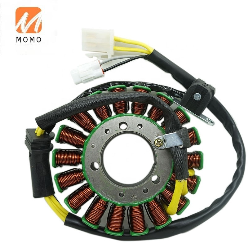 Motorcycle atv utv off road spare parts accessories coils Motorcycle rotor magneto coil stator high speed motorcycle rotor magneto kits stator coil for yinxiang lying 150cc and 160cc engine motor accessories