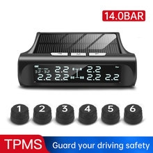 3.5/8/9 Bar Tire Pressure Monitoring System Solar TPMS External Sensor Tire Pressure Real Time Truck