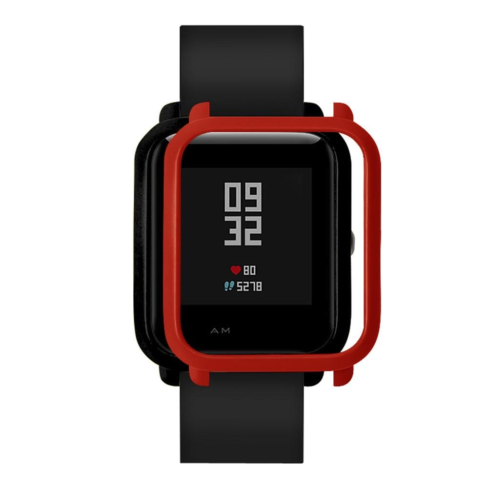 Accesorios para reloj inteligente, carcasa de PC colorida, Carcasa protectora para Xiaomi Huami Amazfit Bip Youth Watch 2019