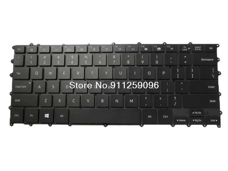 لوحة المفاتيح لابتوب سامسونج NP930MBE 930MBE الإنجليزية لنا BA59-04382A مع الخلفية جديد