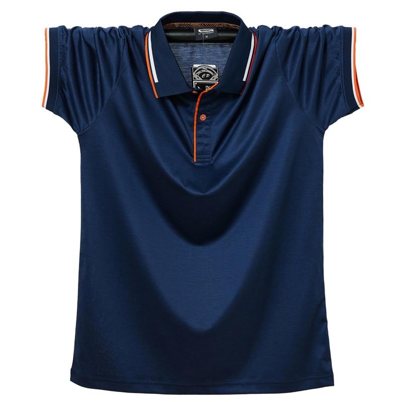Размера плюс 6XL 5XL XXXXL Мужская рубашка поло с короткими рукавами рубашки с рисунком из лоскутков; Повседневная блуза топ с вышивкой из дышащего материала, с хлопковой подкладкой